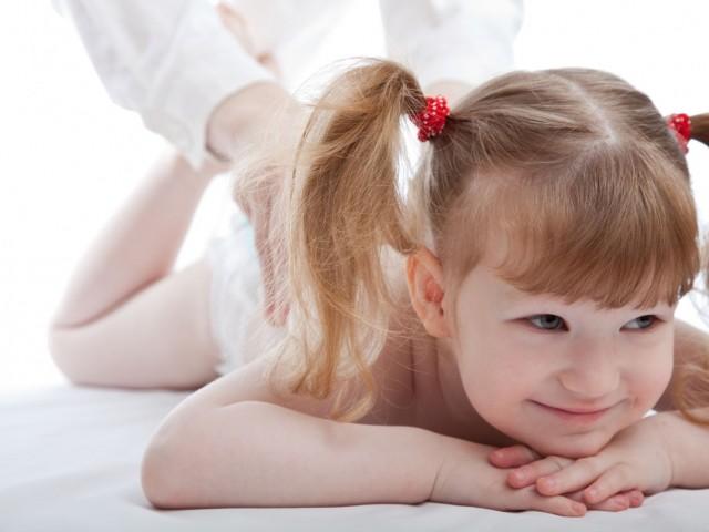 массаж для детей до трех лет