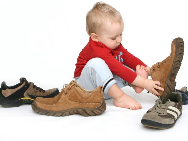 как выбрать обувь ребенку