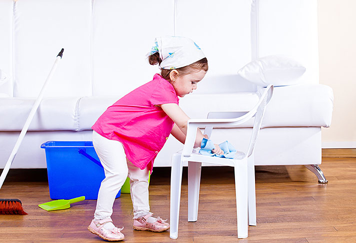 приучаем ребенка к чистоте